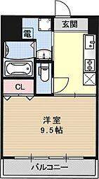 ハレクラニ[604号室号室]の間取り