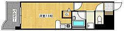 ライオンズマンション六ツ門第2[5階]の間取り