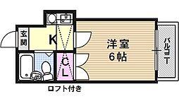 山科第3[102号室号室]の間取り