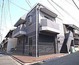京都府京都市東山区東大路松原上る東入月輪町の賃貸マンションの外観