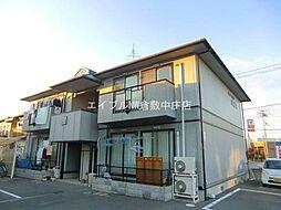 岡山県岡山市北区西市丁目なしの賃貸アパートの外観