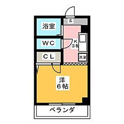 ASANOIIビル[3階]の間取り