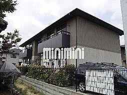クレセント松新II A棟[1階]の外観