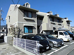 京都府京都市西京区大枝東長町の賃貸アパートの外観
