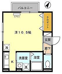S・D VI[1階]の間取り