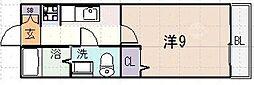 サンライブラ[1階]の間取り