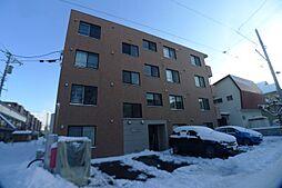 北海道札幌市西区八軒七条東5の賃貸アパートの外観