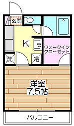 ネット第77ビル[301号室]の間取り