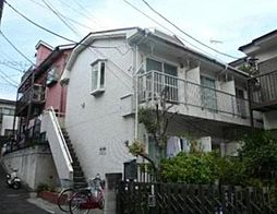東京都大田区中馬込1丁目の賃貸アパートの外観