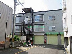 北海道札幌市東区本町二条5丁目の賃貸アパートの外観