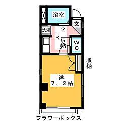 プエルタ21[1階]の間取り