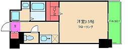 KHKコート西野田[4階]の間取り