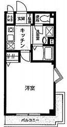 ローゼンHK[3階]の間取り