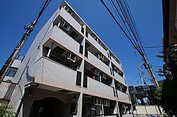 神奈川県横浜市港北区大倉山3の賃貸マンションの外観