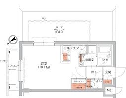 (仮称)トラストレジデンシャル池袋メトロゲート[5階]の間取り