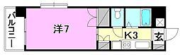 メゾン中村5[508 号室号室]の間取り