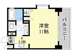 メディオカーサ[8階]の間取り