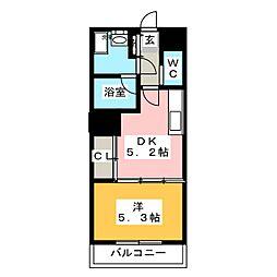 S−FORT片平[3階]の間取り
