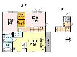 ル・リアン[2階]の間取り