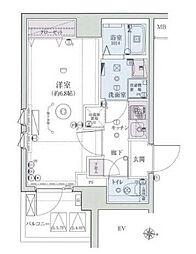 リヴシティ横濱インサイト II[6階]の間取り