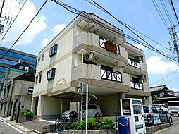愛知県安城市三河安城町1丁目の賃貸マンションの外観