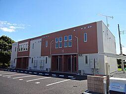 千葉県茂原市東茂原の賃貸アパートの外観