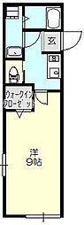 シアターハイム下保谷[2階]の間取り