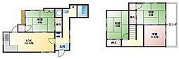 [一戸建] 神奈川県横浜市戸塚区名瀬町 の賃貸【/】の間取り