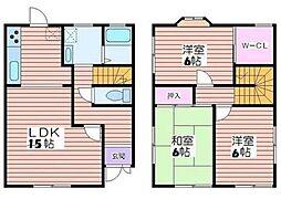 [テラスハウス] 兵庫県姫路市御立西6丁目 の賃貸【/】の間取り