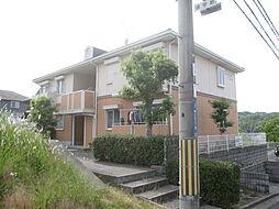 京都府相楽郡精華町桜が丘2丁目の賃貸アパートの外観