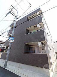 大阪府吹田市清和園町の賃貸アパートの外観