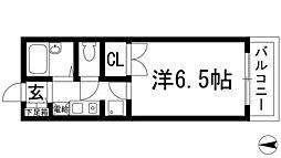 シャトー花屋敷[2階]の間取り