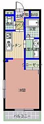 サンライトレジデンス[2階]の間取り
