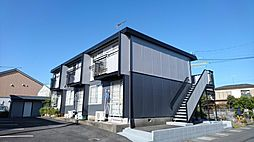 静岡県静岡市葵区山崎1丁目の賃貸アパートの外観