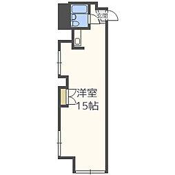 チサンマンション札幌第8[6階]の間取り