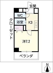 シイノマンション[1階]の間取り