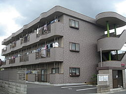 東京都あきる野市渕上の賃貸マンションの外観