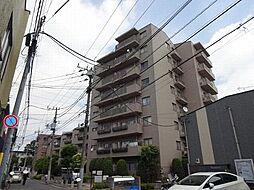 東京都日野市多摩平1丁目の賃貸マンションの外観