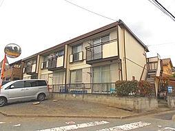 埼玉県川口市領家2丁目の賃貸アパートの外観