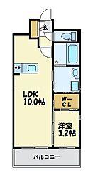 仮)LANDIC K104[5階]の間取り