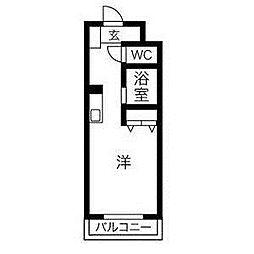 メゾン・ド・ムートン[2階]の間取り