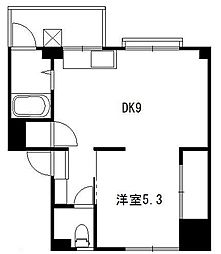 辻堂製作所アパート[202号室]の間取り