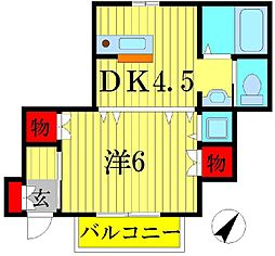 初石駅 5.8万円