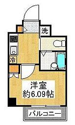 東京都大田区大森東1丁目の賃貸マンションの間取り