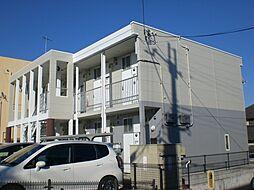 兵庫県神戸市北区藤原台中町2丁目の賃貸アパートの外観