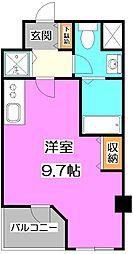 東京都練馬区貫井3丁目の賃貸マンションの間取り