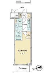 エスリード福島第5[2階]の間取り