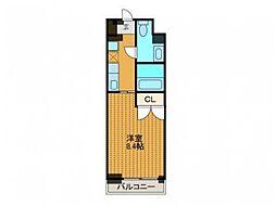 ドゥーエ新百合ヶ丘[4階]の間取り