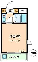 第二エステートオギモト[311号室]の間取り