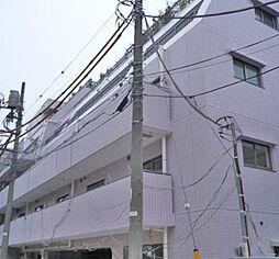 東京都渋谷区西原2丁目の賃貸マンションの外観